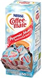 Coffee-mate Coffee Creamer, Peppermint Mocha Liquid Singles, 0.375-Ounce Containers (Pack of 200)