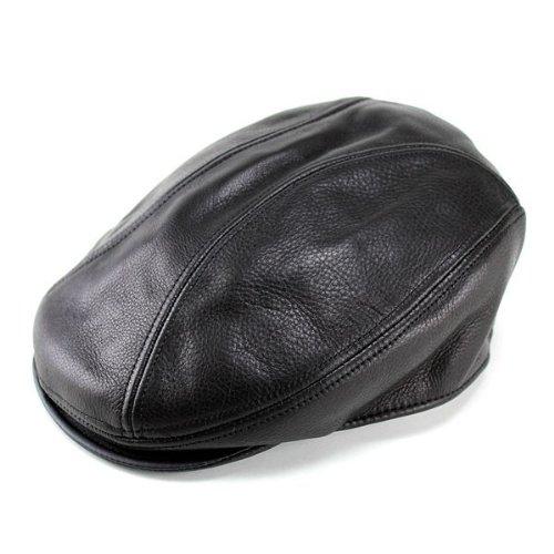ニューヨークハット/ New York Hat / ハンチング /帽子/メンズ/レザー/牛革/本革/レディース/Lamba 1900 /9250/ブラック/黒