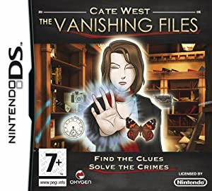 Cate West: The Vanishing Files (Nintendo DS)