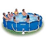 Intex 12ft Diameter x 30in Deep Metal Frame Pool (with pump) #28212