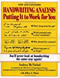 img - for Handwriting Analysis : Putting It to Work for You by McNichol, Andrea, Nelson, Jeffrey (1994) Paperback book / textbook / text book