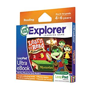 Amazon.com: LeapFrog LeapPad Ultra eBook Learn to Read Collection