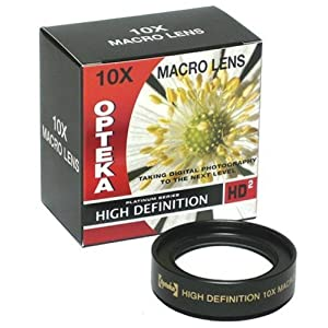 Opteka 10x HD² Professional Macro Lens for Canon PowerShot A650 IS Digital Camera