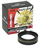 Opteka 10x 58mm HD² Professional Macro Lens for Canon EOS EF Digital SLR Cameras