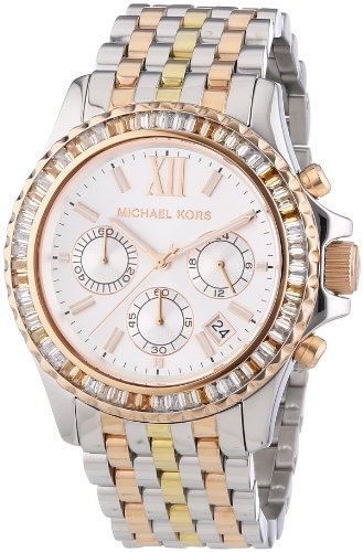 Michael Kors MK5876 Ladies Two Tone Everest Chronograph Watch