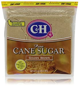 C&H Pure Cane Sugar Golden Brown, 32 Oz