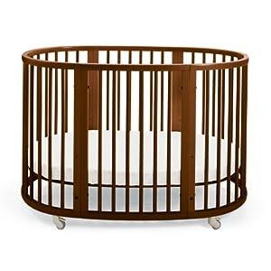 Stokke Sleepi Crib, Walnut Brown