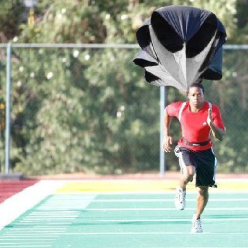 "Actpe Speed Running Power Chute Training Resistance Exercise Parachute (56"")"