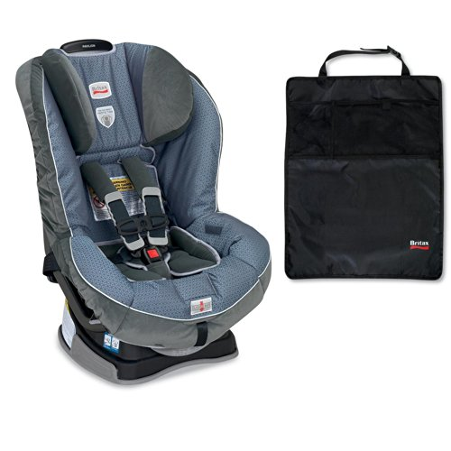 Britax Pavilion G4 Convertible Car Seat And Kick Mats- 2 Pack, Blueprint front-826789