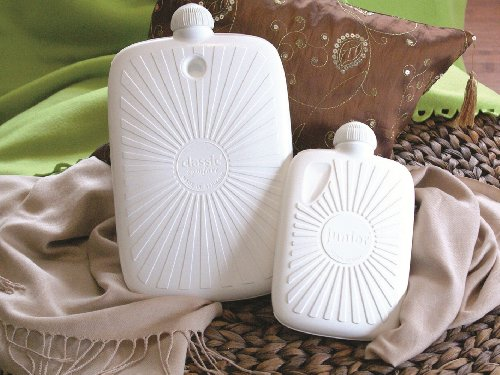 Warm Tradition Eco Comfort Junior Travel Size Hot Water Bottle - Made In Germany