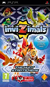 Amazon.com: Invizimals with Camera for PSP: Video Games