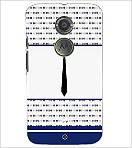 PrintDhaba Tie D-4789 Back Case Cover for MOTOROLA MOTO X2 (Multi-Coloured)