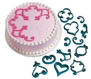 Amazon.com: Wilton 2104-3160 12-Piece Cake-Decorating