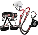 Klettersteigset LACD Ferrata Pro Evo + LACD Gurt Start +...