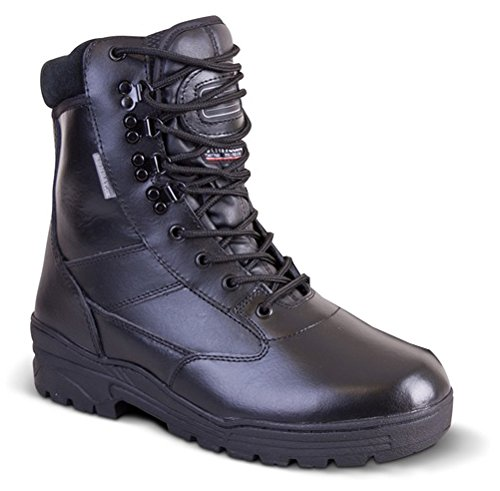 mens army combat all leather army patrol