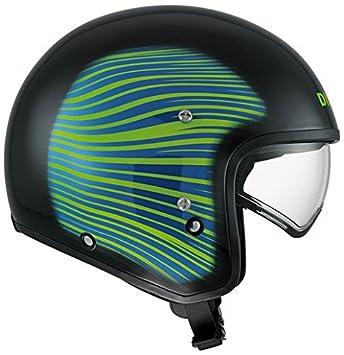 AGV Helmets 466PA2B0_012_L Casque Jet Hi-Jack Disel E2205, Multicolore (HJ 1 Noir/Rouge Bleu), L