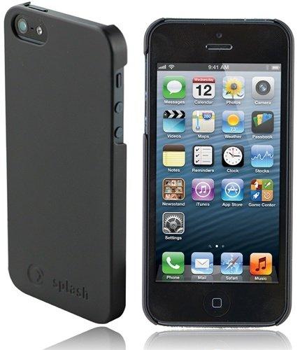 Special Sale Splash Zero Ultra-Slim PolyCarbonate Case/Cover for iPhone 5 - BLACK