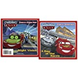 A Day at the Races/Night Vision (Disney/Pixar Cars) (Deluxe Pictureback)