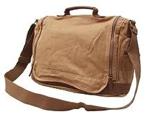 Buy Otium 30622KA Canvas Genuine Leather Cross Body Messenger Handbag 4c7b69a2b8c7f