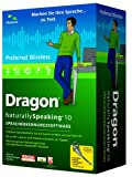 Dragon NaturallySpeaking 10 Preferred Wireless (MiniBox)