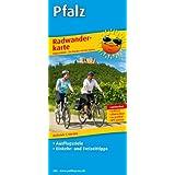 Radwanderkarte Pfalz: Mit Ausflugszielen, Einkehr- & Freizeittipps, reissfest, wetterfest, abwischbar, GPS-genau. 1:100000