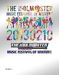 THE IDOLM@STER MUSIC FESTIV@L OF WINTER!!(Blu-rayBOX)(完全初回生産限定)(BD3枚組)