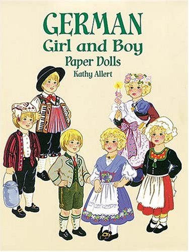 German Girl and Boy Paper Dolls (Boys & Girls from Around the Globe)