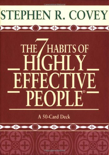 The 7 Habits of Highly Effective People Cards (Large Card Decks)