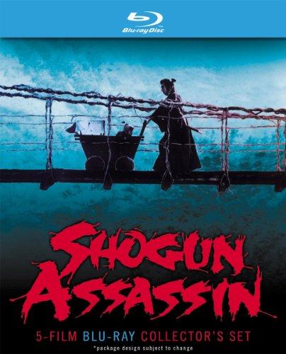Shogun Assassin 5 Film Collector's Set [Blu-ray]