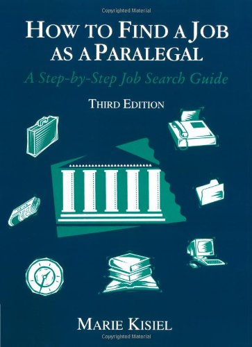 How to Find a Job as a Paralegal