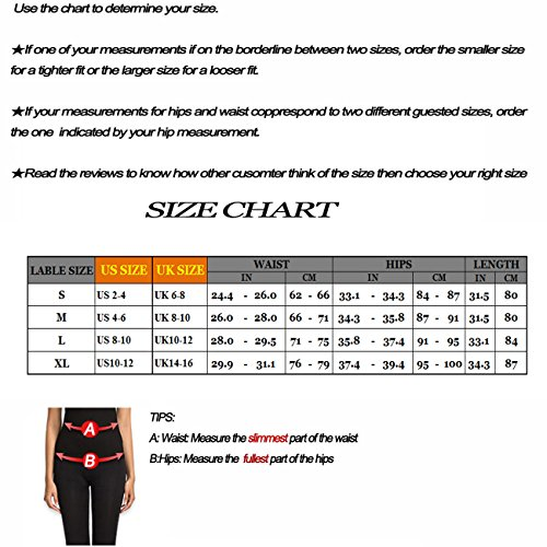 Beepeak Women's Mesh Workout Tights Gym Sports Yoga Pant Leggings M Black