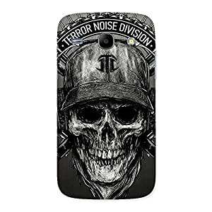 Grey Skull Terr Back Case Cover for Galaxy Core