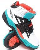(アディダス)adidas スニーカー シューズ ハイカット Mutombo TR Block Sneakers 9サイズ(27cm)White×Black×Green(ホワイト×ブラック×エメラルドグリーン)
