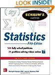 Schaum's Outline of Statistics, 5th E...