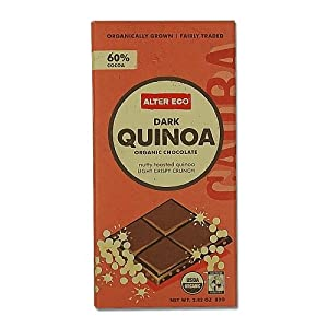 Dark Quinoa Organic Chocolate