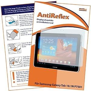 mumbi Displayschutzfolie Samsung Galaxy Tab 10.1N WiFi P7501 P7511 Displayschutz AntiReflex antireflektierend - NICHT für das 10.1 NUR 10.1N