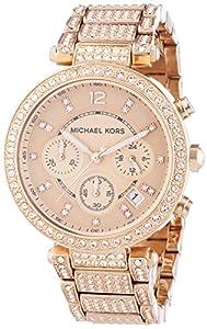 Michael Kors Damen-Armbanduhr Analog Quarz Edelstahl MK5663