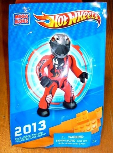 Hot Wheels Mega Bloks 2013 Exclusive Figure Random - 1
