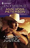 A Ranchers Brand of Justice (Harlequin Intrigue)