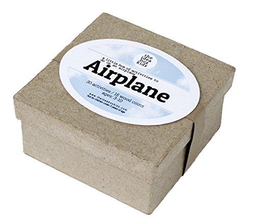 The Idea Box Kids Airplane Box