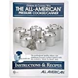 All American pressure cooker instruction and recipe book.