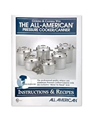 All American pressure cooker instruction and recipe book. by All American