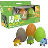 Animal Planet Grow Eggs- Dinosaur - Hatch and Grow Three Different Super-Sized Dinos (Series 1)