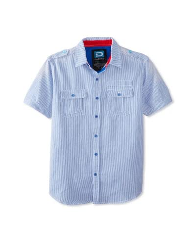 Darring Men's Engineers Short Sleeve Woven Shirt