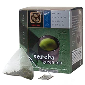 YMY 1690 Sencha Green Tea Pyramid Sachet