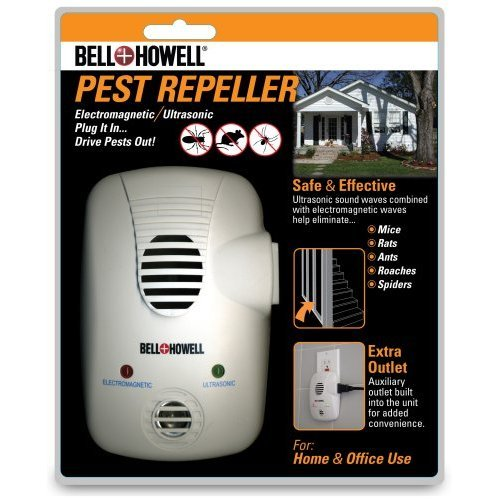 Bell + Howell Electromagnetic Ultrasonic Pest Repeller