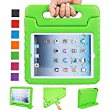 NEWSTYLE Apple iPad 2 3 4 Shockproof Case Light Weight Kids Case Super Protection Cover Handle Stand Case For Kids Children For Apple iPad 4, iPad 3 & iPad 2 2nd 3rd 4th Generation (Green)