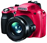 Fujifilm FinePix SL240 Digital Camera Refurbished - Red (14MP, 24x Optical Zoom) 3 inch LCD Screen