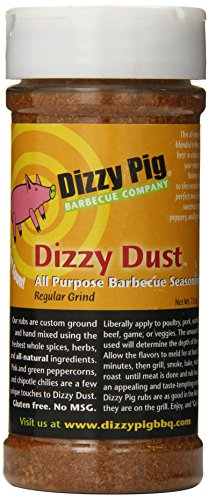 Dizzy Pig BBQ All Purpose Regular Grind Rub Spice - 7.8 Oz (Dizzy Pig Bbq compare prices)