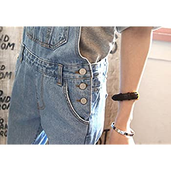 VSVO Vintage Teenagers Loose Overalls